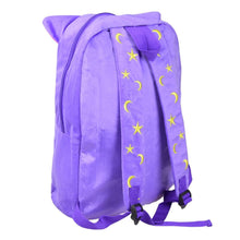 Load image into Gallery viewer, Sailor Moon Luna Fluffy Plush Backpack SP130267 - SpreePicky  - 3