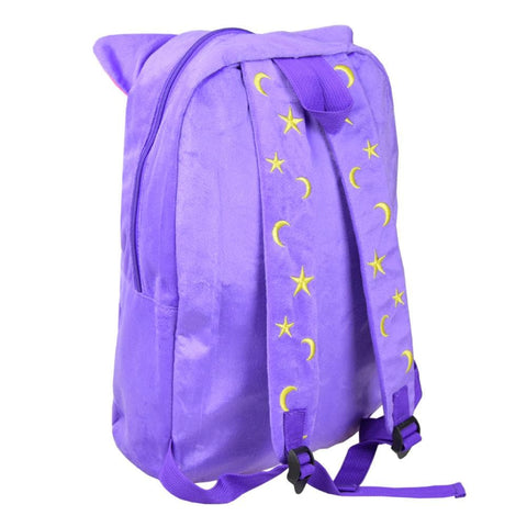 Sailor Moon Luna Fluffy Plush Backpack SP130267 - SpreePicky  - 3