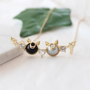 Sailor Moon Luna Key Necklace/Earrings SP1811818