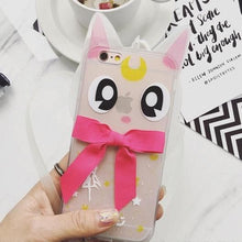 Load image into Gallery viewer, Sailor Moon Diana Clear Phone Case SP166426 Kawaii Aesthetic Fashion - SpreePicky