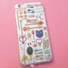 Load image into Gallery viewer, Sailor Moon Magic Wand Pattern Kawaii Phone Case SP165680