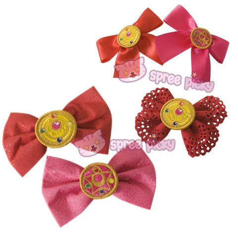 Sailor Moon Make Up Brooch Bow Clip SP152381