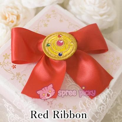 Sailor Moon Make Up Brooch Bow Clip SP152381 - SpreePicky  - 4
