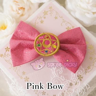 Sailor Moon Make Up Brooch Bow Clip SP152381 - SpreePicky  - 5