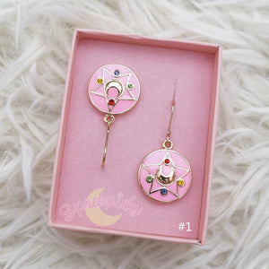 Sailor Moon Make Up Brooch Earrings Pierce/Clips/Necklace  SP141131 - SpreePicky  - 9