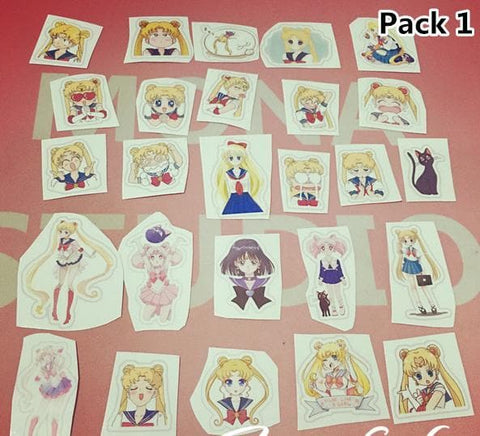 Sailor Moon Paper Sticker SP165334