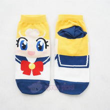 Load image into Gallery viewer, 6 Colors Sailor Moon Series Cotton Socks SP151896 - SpreePicky  - 5