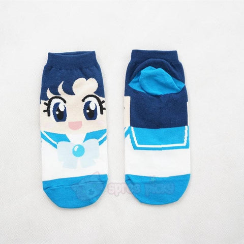 6 Colors Sailor Moon Series Cotton Socks SP151896 - SpreePicky  - 7