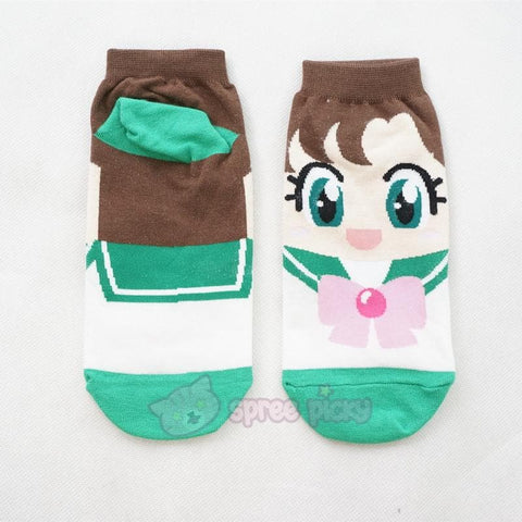 6 Colors Sailor Moon Series Cotton Socks SP151896 - SpreePicky  - 9