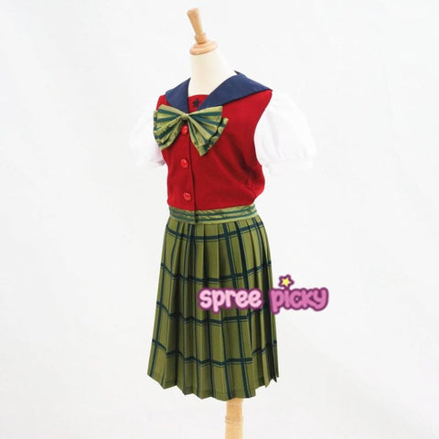 Sailor Moon Sailor Neptune Kaioh Michiru Short Sleeve School Uniform SP165191