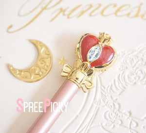 Sailor Moon Spiral Heart Moon Rod Pen/Serenity Schedule Plan Book SP1711254/SP1711255