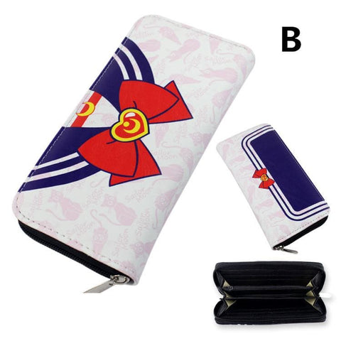 [Sailor Moon] Tsukino Usagi Kawaii Zipper Wallet Purse SP164900 - SpreePicky  - 4