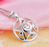 [Sailor Moon] Tsukino Usagi Moon Prism Silver Necklace SP152762 - SpreePicky  - 3