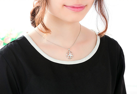 [Sailor Moon] Tsukino Usagi Moon Prism Silver Necklace SP152762 - SpreePicky  - 6