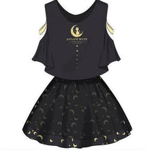 Load image into Gallery viewer, Sailor Moon Two-Piece Top and Skirt SP1710192
