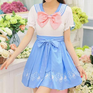 Sailor Moon Usagi Cute Sailor Dress SP152922 - SpreePicky  - 5