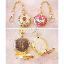 Load image into Gallery viewer, Sailor Moon Usagi Moon Prism Pocket Watch SP153268