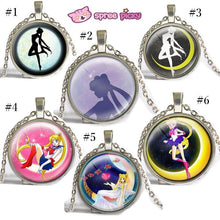 Load image into Gallery viewer, Sailor Moon Usagi Time Gem Necklace SP152752-SP152757 - SpreePicky  - 2
