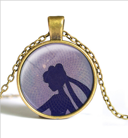 Sailor Moon Usagi Time Gem Necklace SP152752-SP152757 - SpreePicky  - 4