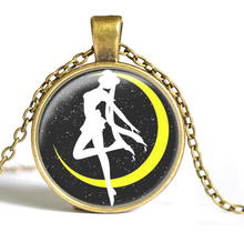 Load image into Gallery viewer, Sailor Moon Usagi Time Gem Necklace SP152752-SP152757 - SpreePicky  - 5