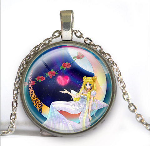 Sailor Moon Usagi Time Gem Necklace SP152752-SP152757 - SpreePicky  - 7