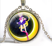 Load image into Gallery viewer, Sailor Moon Usagi Time Gem Necklace SP152752-SP152757 - SpreePicky  - 8