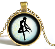 Load image into Gallery viewer, Sailor Moon Usagi Time Gem Necklace SP152752-SP152757 - SpreePicky  - 3