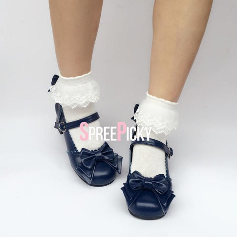Sailor Navy Dolly Lolita Shoes SP1710348