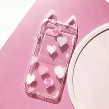 Load image into Gallery viewer, Sakura Heart Kitty Eared Phone Case SP179459