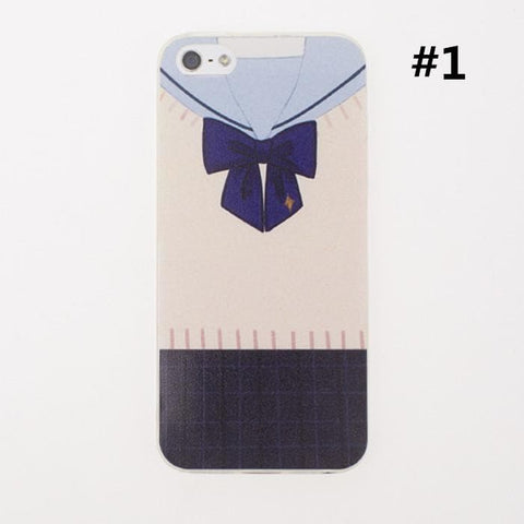 Seifuku Uniform Pattern Iphone Phone Case SP166302