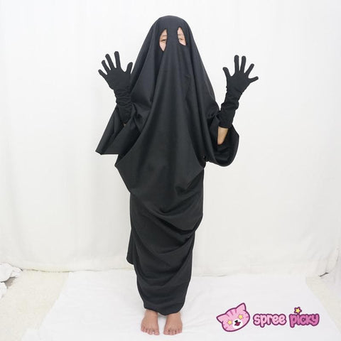 Sen and Chihiro's Spiriting Away NO FACE MAN Cosplay Costume Outfit SP141257 |Mask SP141264 - SpreePicky  - 3