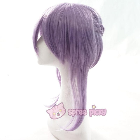 Seraph Of The End - Shinoa Hiragi Cosplay Purple Wig 30 cm SP152468 - SpreePicky  - 3