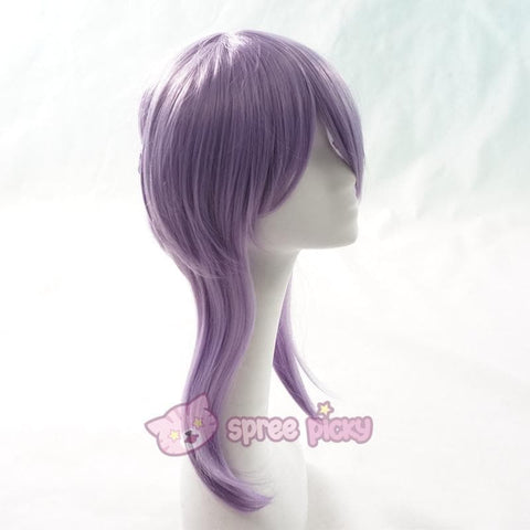 Seraph Of The End - Shinoa Hiragi Cosplay Purple Wig 30 cm SP152468 - SpreePicky  - 4