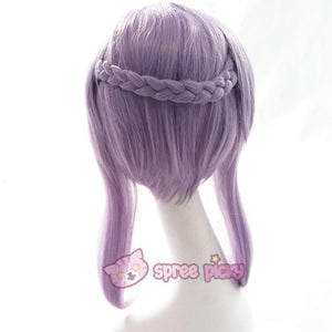 Seraph Of The End - Shinoa Hiragi Cosplay Purple Wig 30 cm SP152468 - SpreePicky  - 5