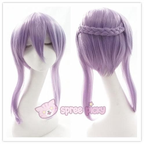 Seraph Of The End - Shinoa Hiragi Cosplay Purple Wig 30 cm SP152468 - SpreePicky  - 1