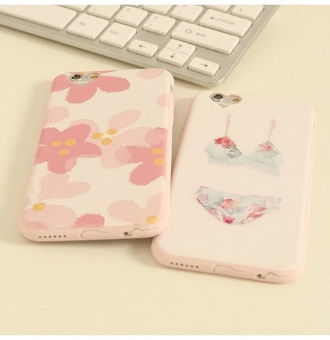 Floral/Bikini Pattern Phone Case SP166292