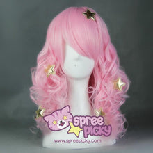 Load image into Gallery viewer, Show By Rock Pink Long Curly Cosplay Wig SP165769