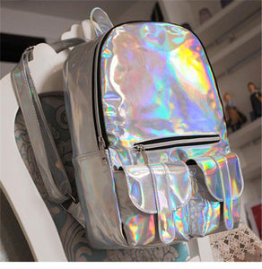 Holographic  Fashion Backpack SP166993