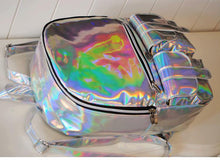 Load image into Gallery viewer, Holographic  Fashion Backpack SP166993
