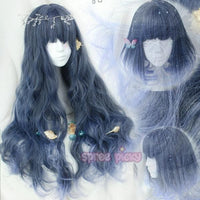 Final Stock! Lolita Mermaid Dark Blue Wig SP165380