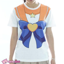 Load image into Gallery viewer, [Spree Picky Design] Sailor Moon Sailor Venus T-shirt SP152136 - SpreePicky  - 1