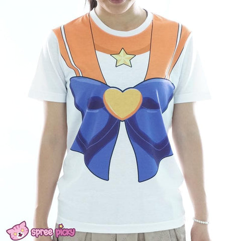 [Spree Picky Design] Sailor Moon Sailor Venus T-shirt SP152136 - SpreePicky  - 1