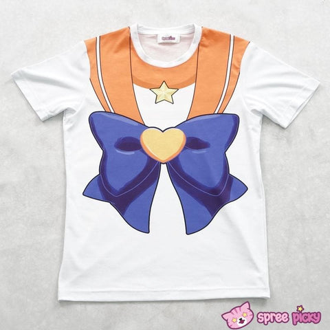 [Spree Picky Design] Sailor Moon Sailor Venus T-shirt SP152136 - SpreePicky  - 5
