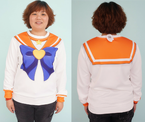 [Spree Picky Design] Sailor Moon Series Sweatershirt - SpreePicky  - 11