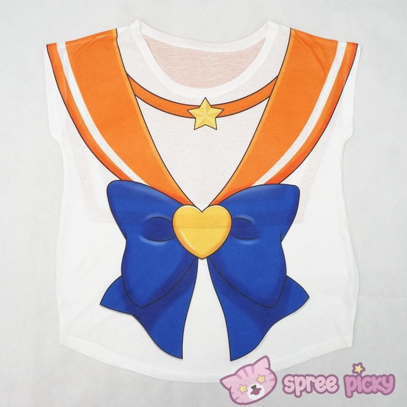 [Reservation][Spree Picky Original Design] Sailor Venus Sailor Bow Tee Shirt SP153047 - SpreePicky  - 1