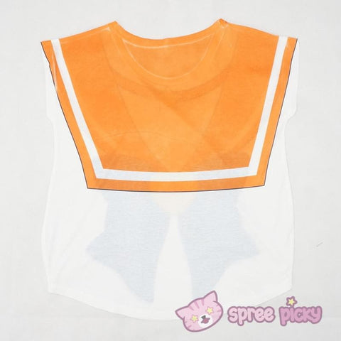 [Reservation][Spree Picky Original Design] Sailor Venus Sailor Bow Tee Shirt SP153047 - SpreePicky  - 4