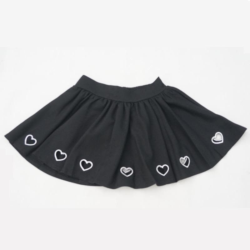 S/M/L Steal My Heart Skirt SP152257 - SpreePicky  - 1