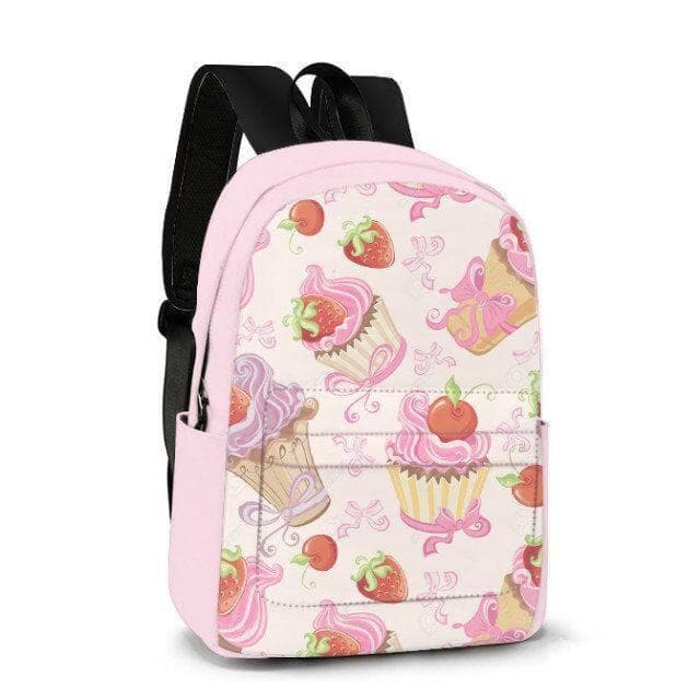 Strawberry Cupcake Custom Made Backpack SP179617