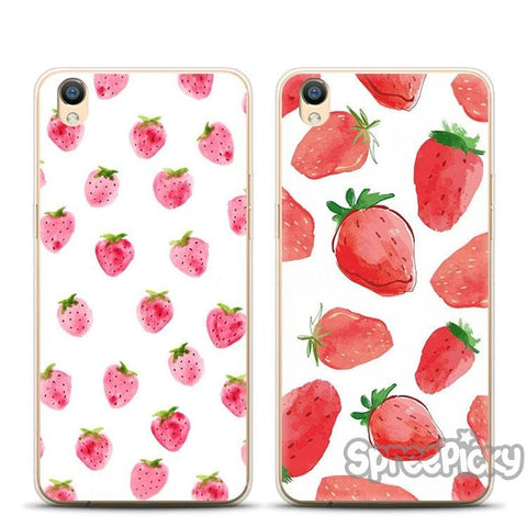 Strawberry Rain Phone Cases SP178835