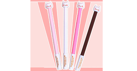 Super Kawaii Kitty Black Gel Pen SP164954 - SpreePicky  - 2